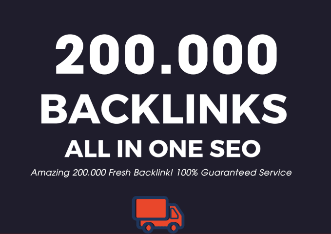 I Will Create 200.000 Super Backlink Fresh Dofollow Mix Nofollow - All in One SEO