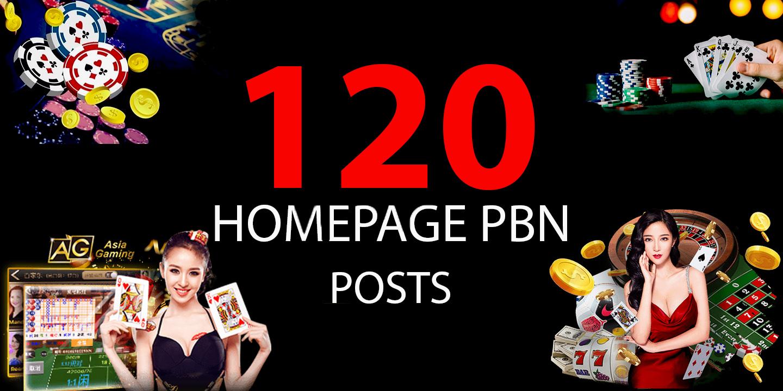 Build 120,  Agen Judi Bola,  Poker,  Gambling,  Casino,  Sports & Betting Related Dofollow PBN Backlinks