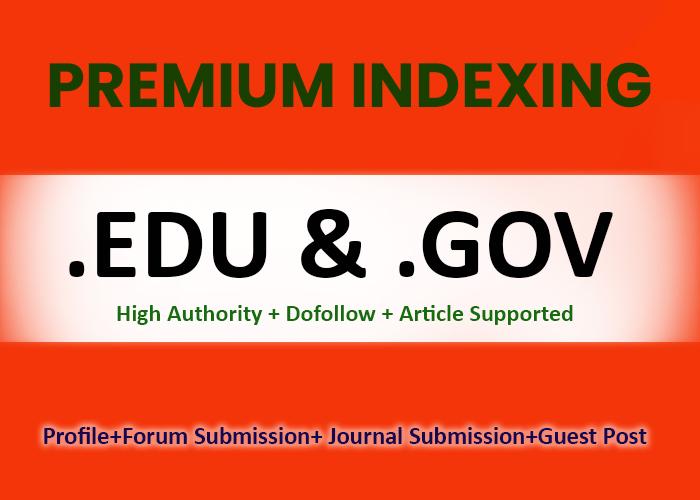 200 EDU/GOV High Authority Do-follow Backlinks