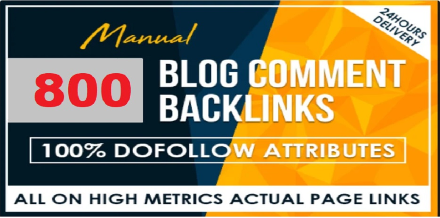 Super fast boost site with 800 blog comments Dofollow backlinks in low price full safe