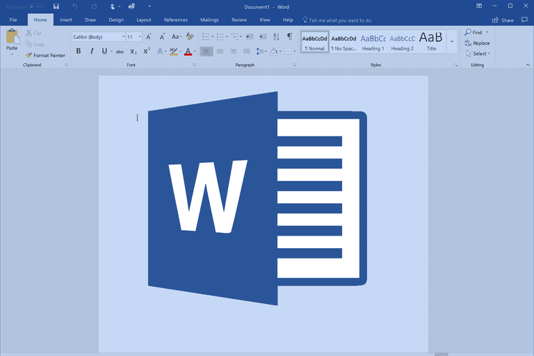 Data entry any type off data in ms-word