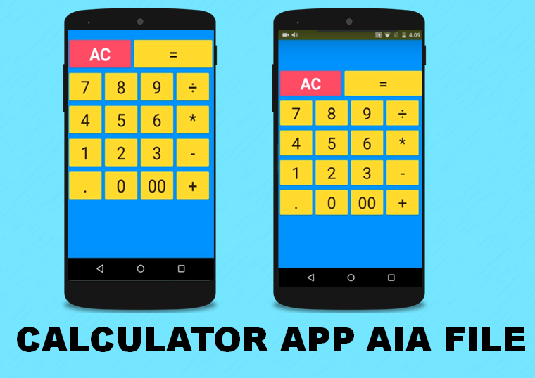 aia file of the thunkable calculator app