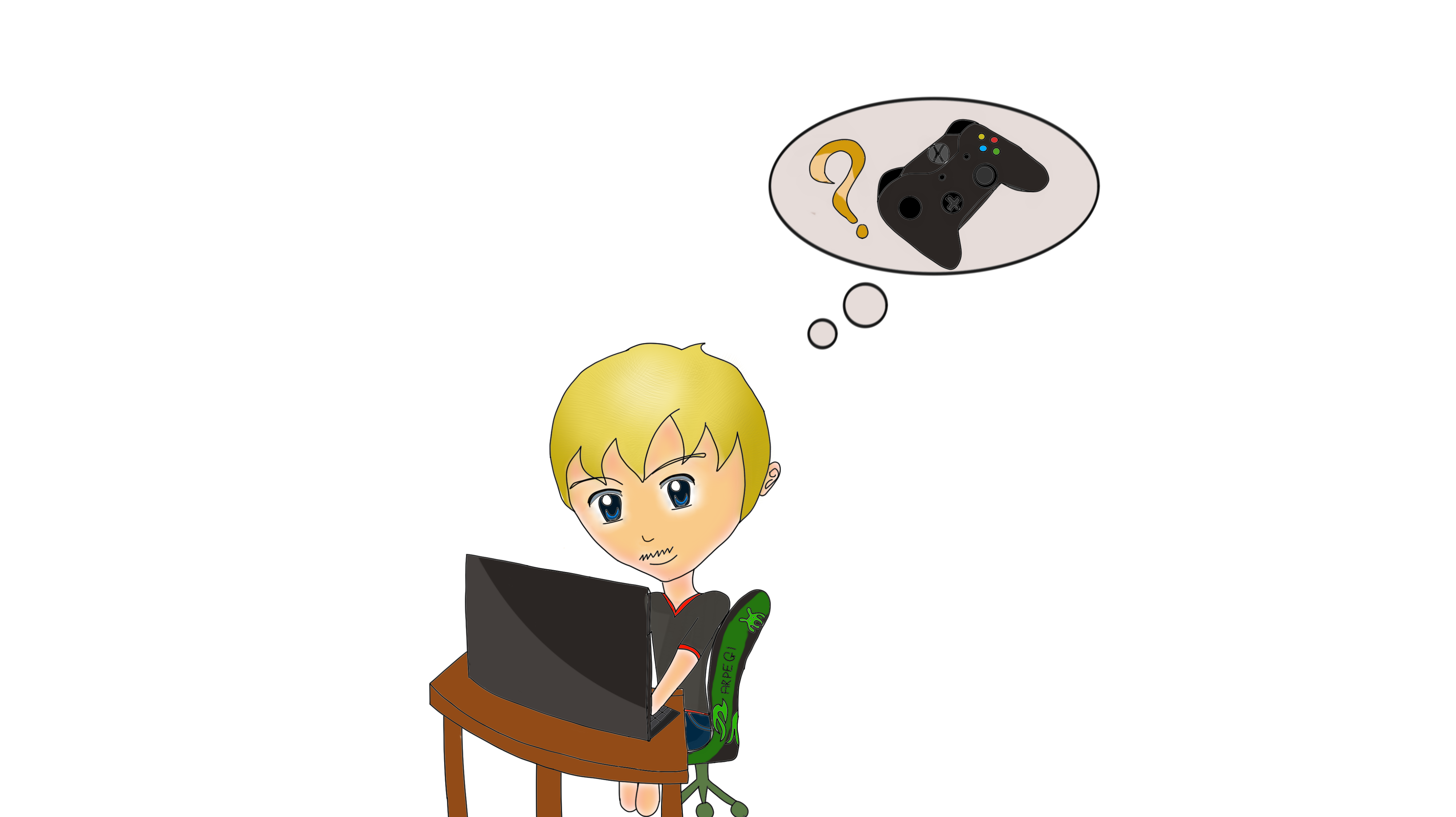 I can play video games with you