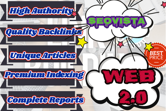 create high quality web 2 0 backlinks to boost your rankings
