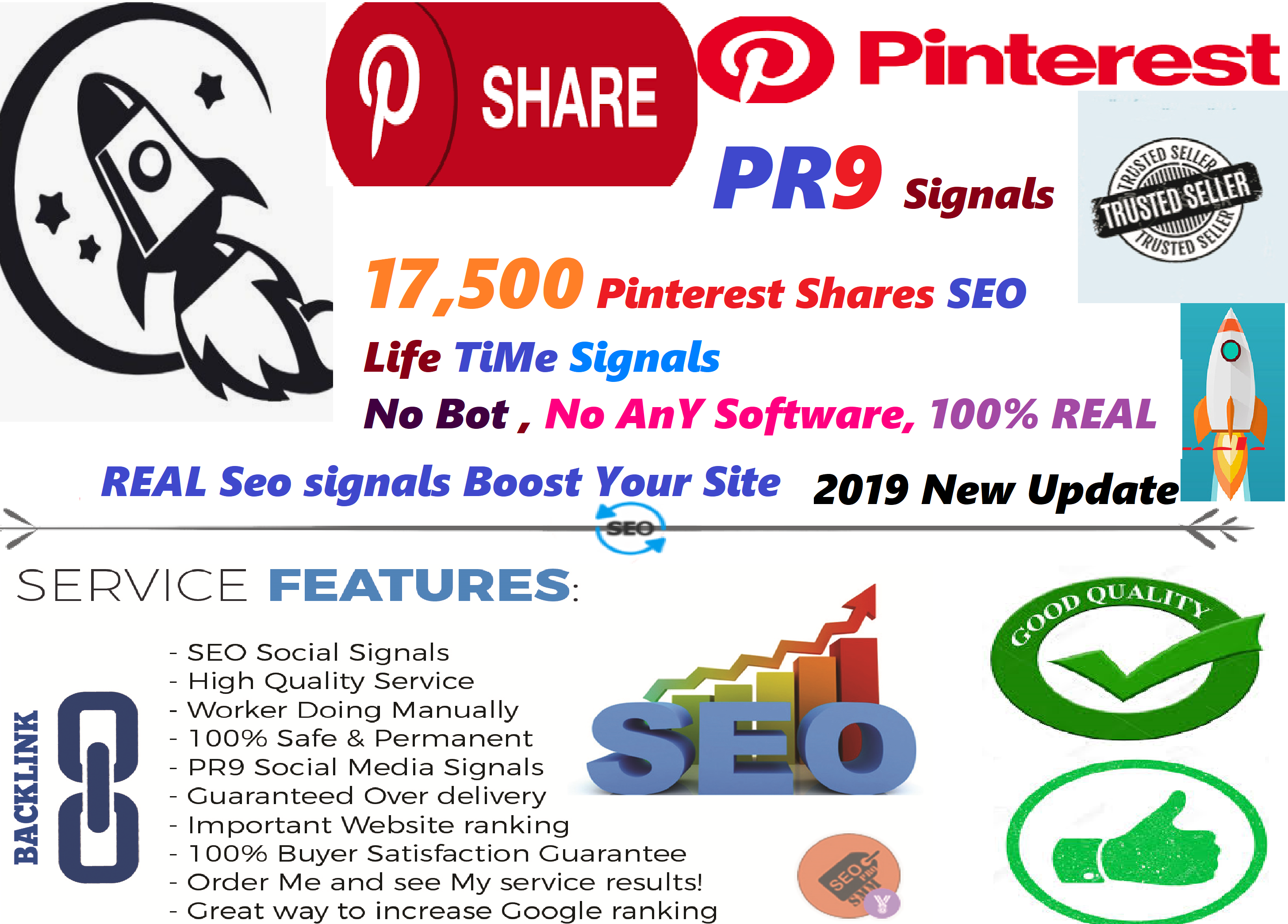 GET POWERFUL 17,500 PINTEREST SHARE SOCIAL SIGNALS FROM ONLY HIGH PR BACKLINKS TO WEBSITE IMPROVING