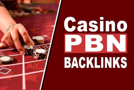 250 Casino / Gambling PBN Backlinks from Poker,  Gambling,  Online
