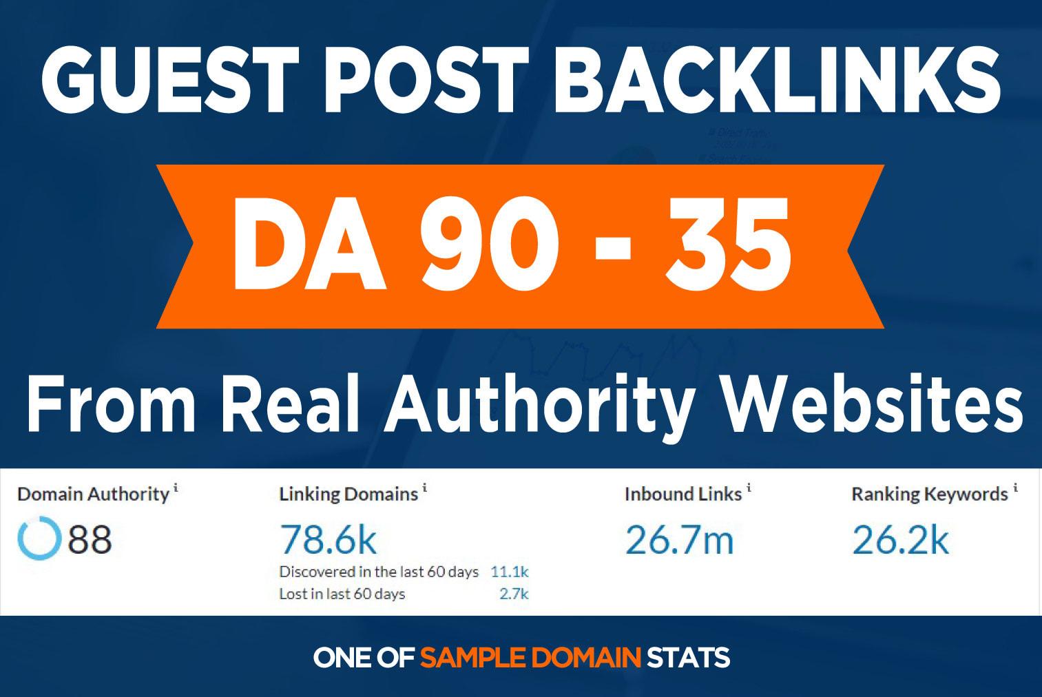 create high da 20 Websites guest post SEO authority backlinks