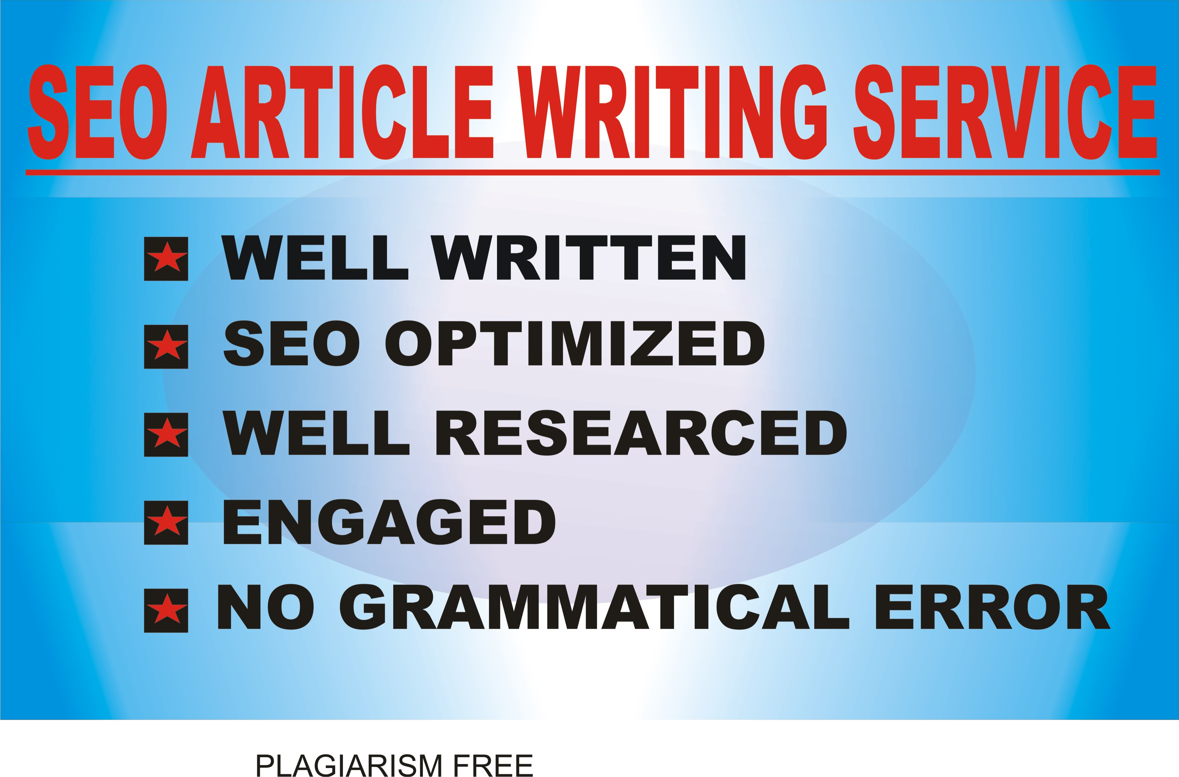 500 words article writing for your website