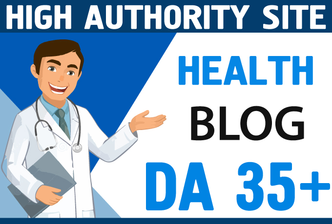 Publishing Quality Health Blog