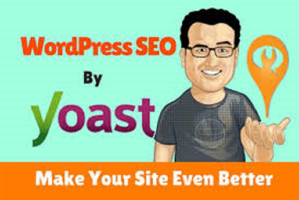 I will wordpress yoast SEO optimization