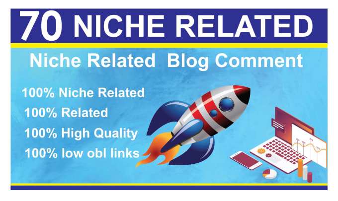 I will provide 70 niche related SEO backlinks