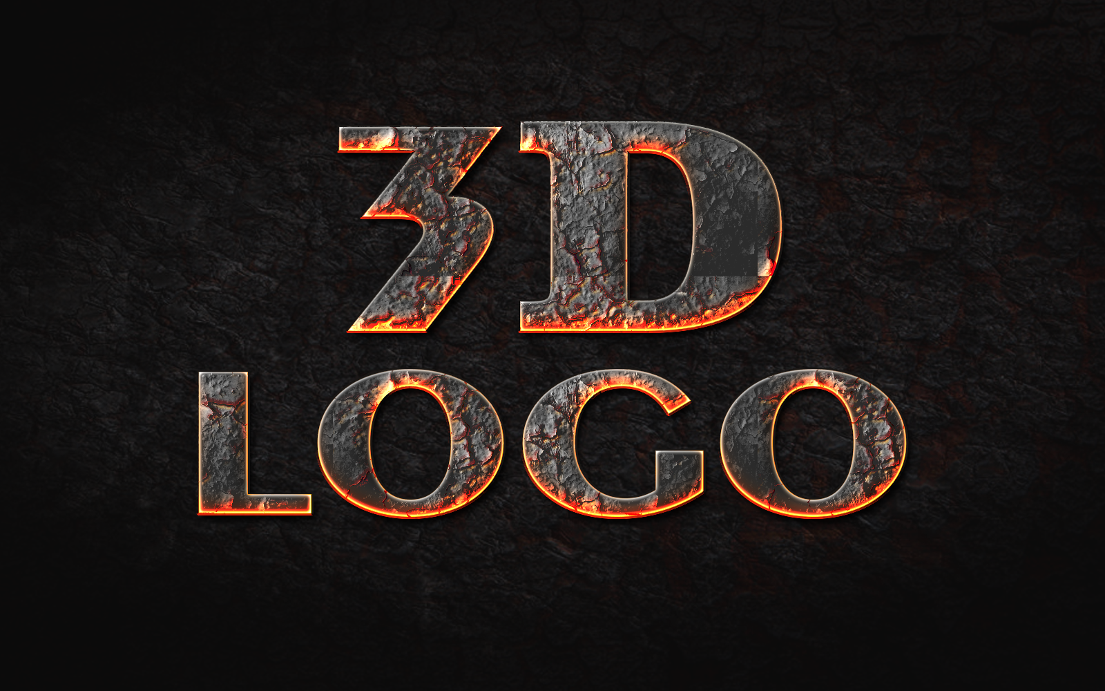i can design 3D logo just in 24 Hours