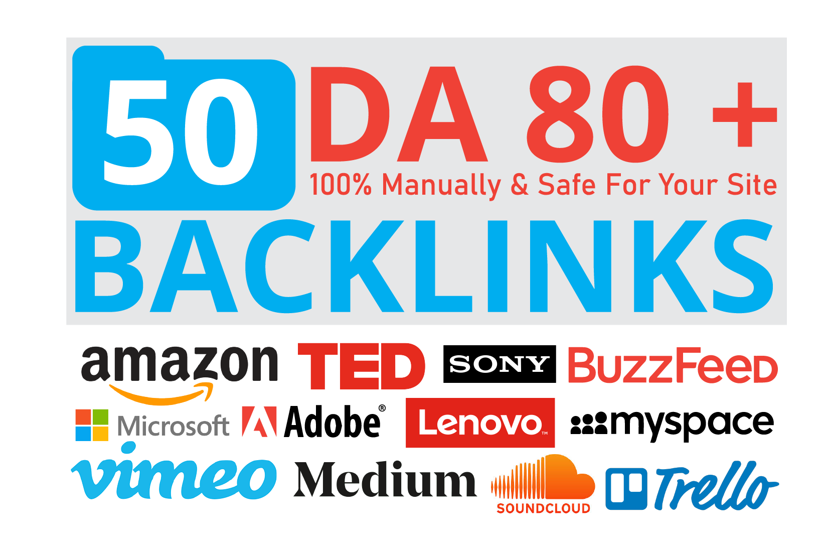 Top 50 Big Brand Companies Backlinks Give Your Site a HUGE boost for Google 1st page keyword ranking