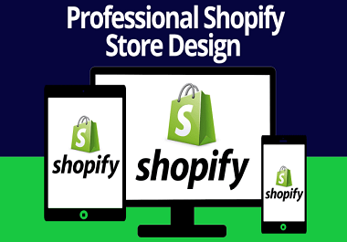 I will build high converting shopify store shopify store design shopify website design
