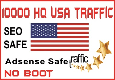 I WILL GET YOU 10000 High Quality USA Human traffic to your website