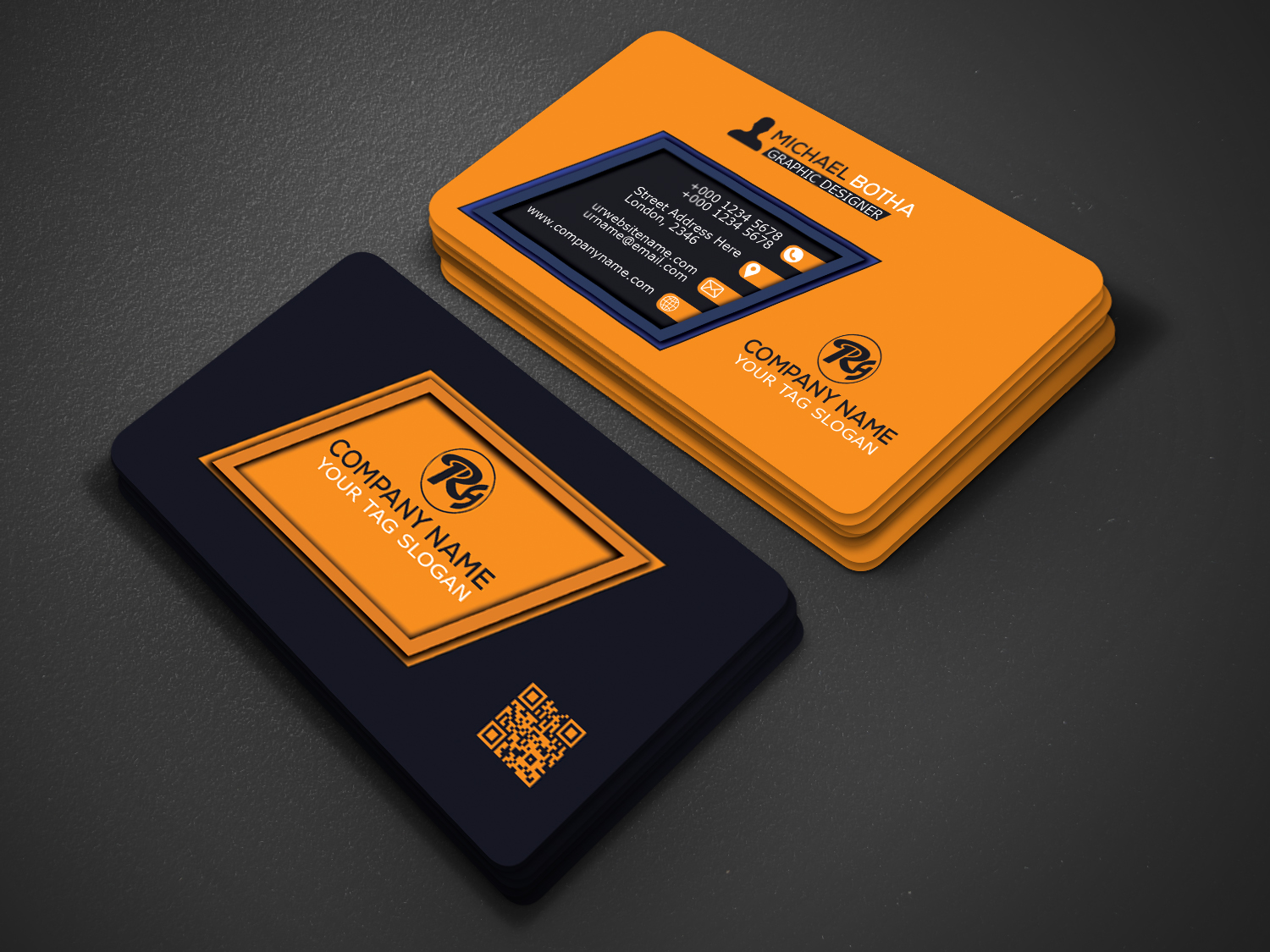 I will Create Luxury looking Business card Design
