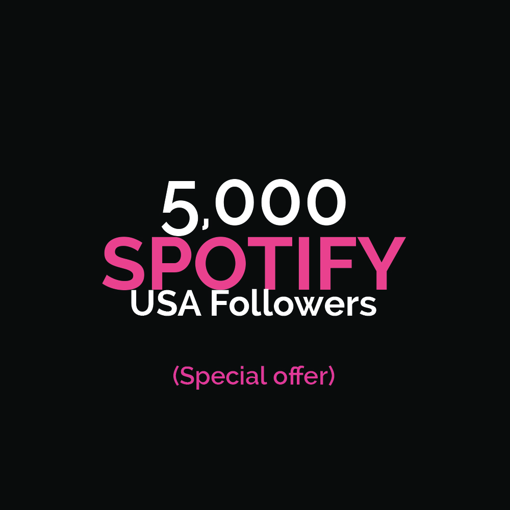 5000+ USA HQ Followers Special Offer