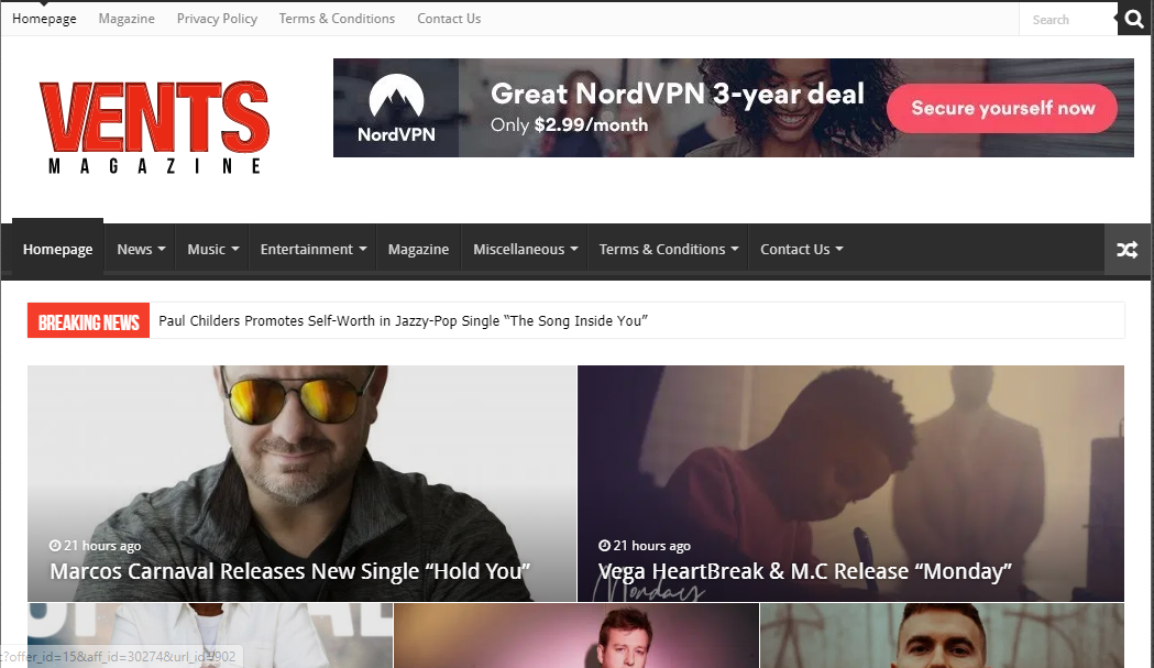 Publish guest post on ventsmagzine da 53 google news approved