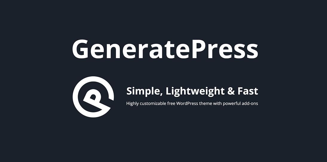 Install GeneratePress Premium WordPress Plugin on your website