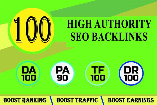 I will build 100 Do-follow SEO quality backlinks