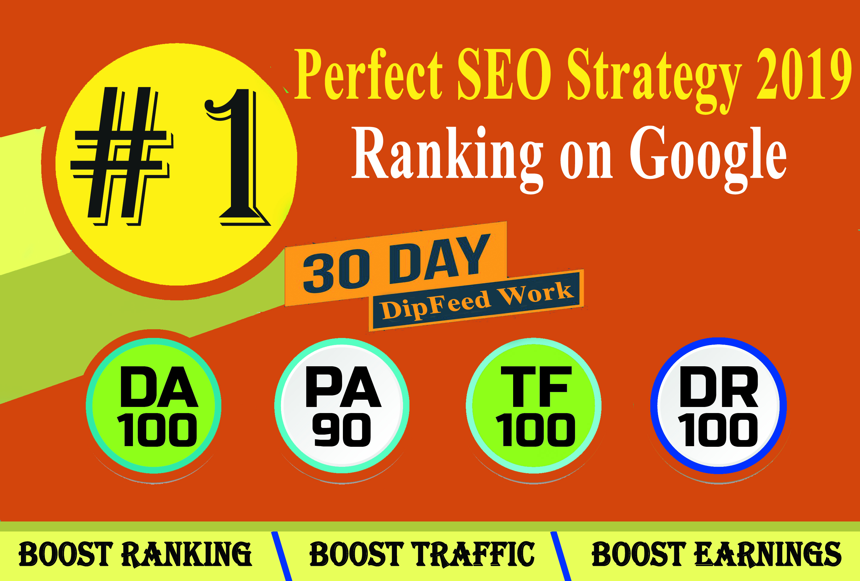 I will rank your website on google,  30 days high PR SEO backlinks