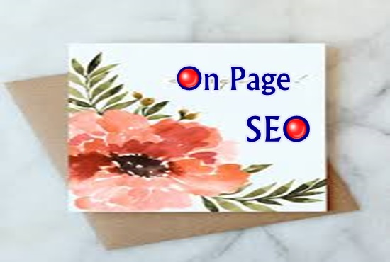I will provide you on page SEO service completely on White Hat method