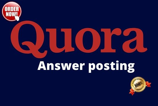 10 high quality Quora Answer with your keywords & url