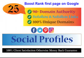 I will do 25 manual Profile Backlinks high DA sites to boost your website