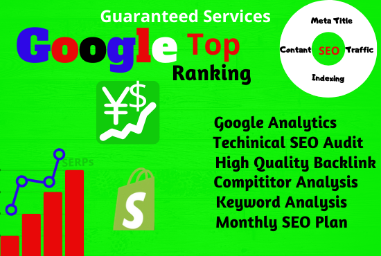 I will Rank Any Website to Google top page with the best SEO Ranking Strategy