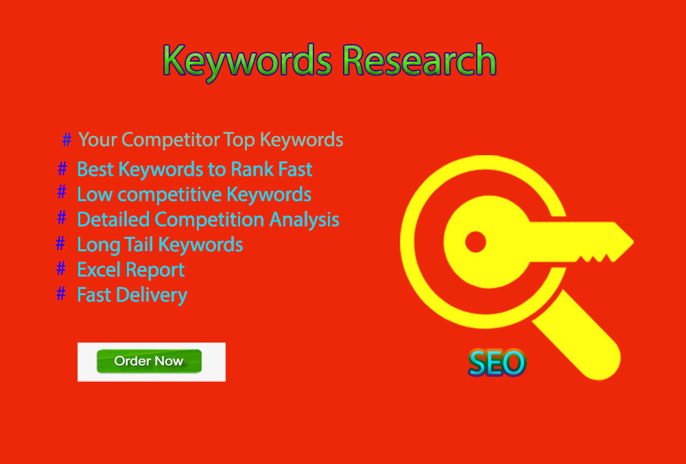 I can do 25 authentic keywords research
