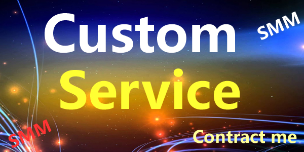 Custom Order Service Get Custom work from me