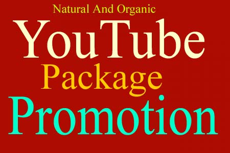 YouTube All package Promotion Social Marketing