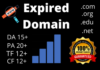 SEO Friendly 3 high Metricex Expired Domain provide to you