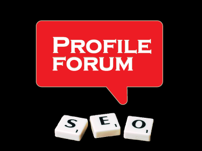 i can do 30 Profile forum for your website
