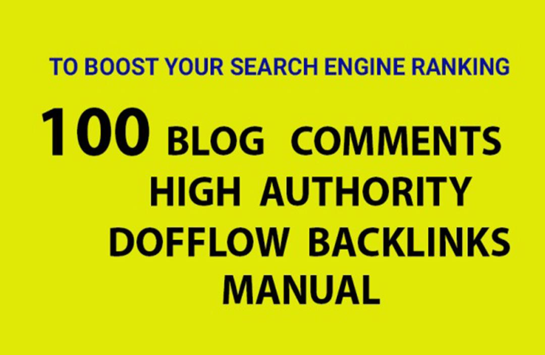 I will do high quality 100 dofollow backlinks website SEO service