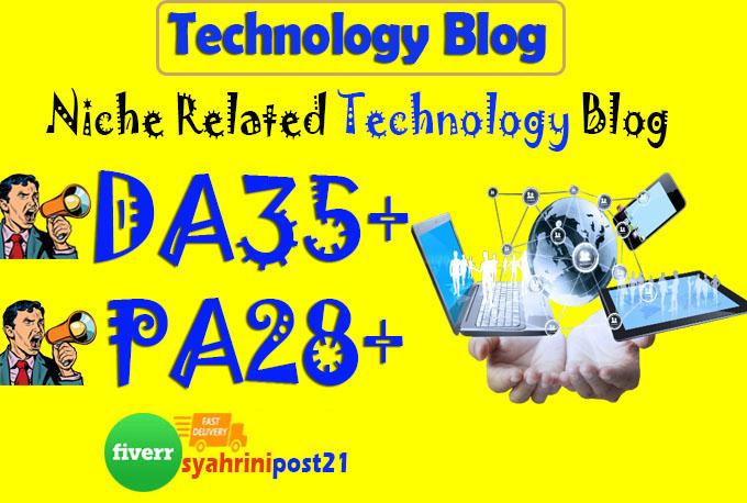 do guest post on da35 technology blog