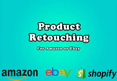 I will retouch 30 product photos for Amazon or Ebay