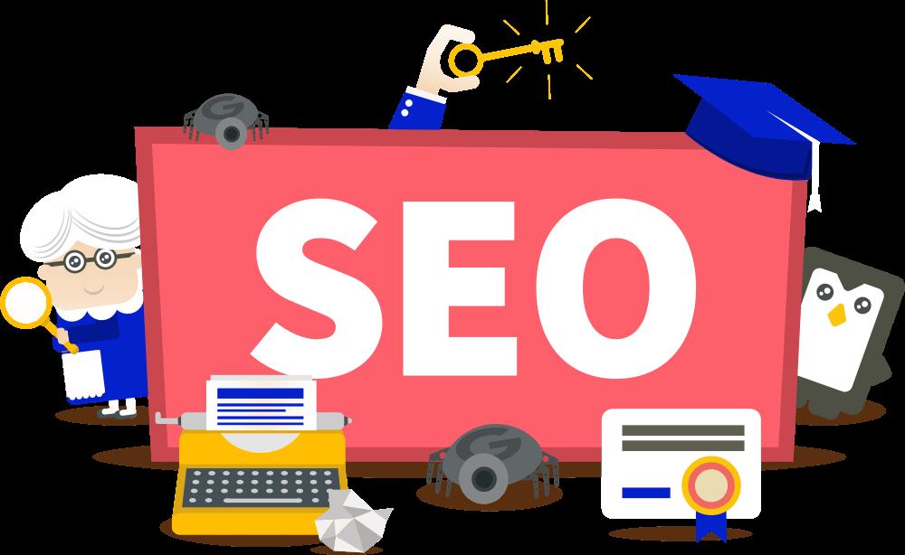 Handles SEO to optimise full site