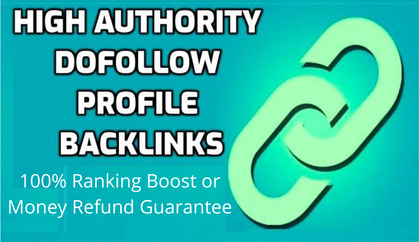 High Quality 600 Dofollow Profile Backlinks High PA,  DA- Boost your Website Rankings