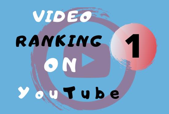 I will do Advanced YouTube SEO to Improve Video Ranking