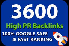 Provide 3600 HQ. Mix platforms PR10 to PR6 Backlinks