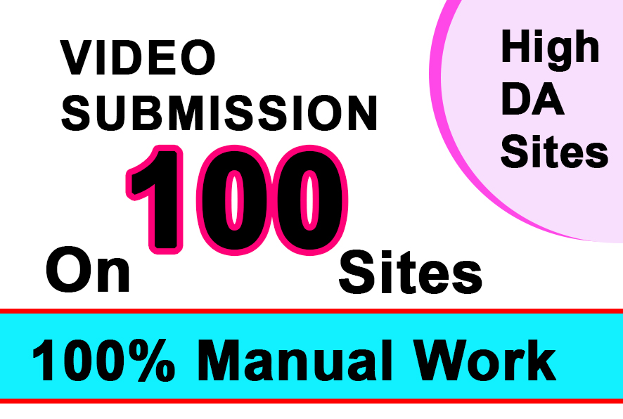 Upload Your Video on top 100 Video sharing Sites manual