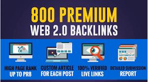 Improve your Alexa Rank with 800 Web 2.0 Backlinks