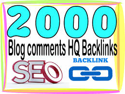 Provide 2000 High quality Blog comments backlinks from pr7 to pr10 websites