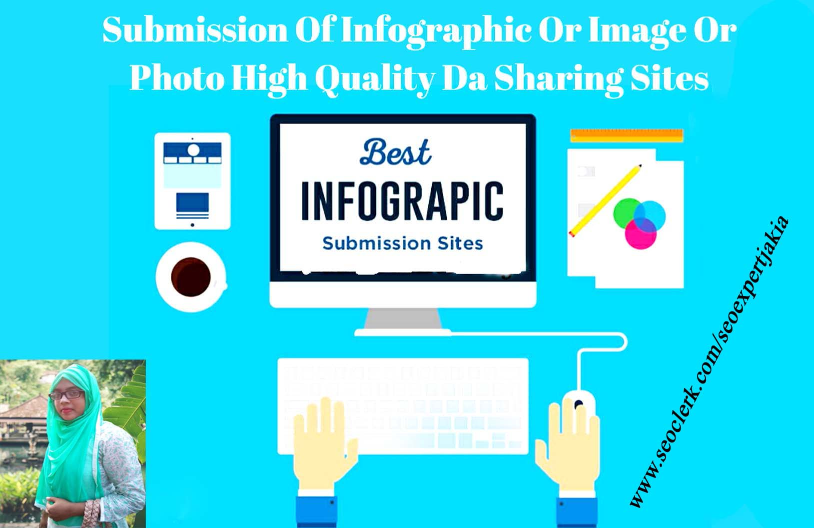 I will do image or photo or infographic submission only 25 high quality sharing sites.