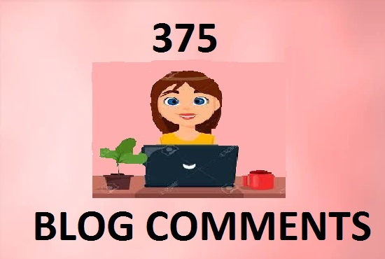 I will do 375 dofollow backlink high DAPA blog comments