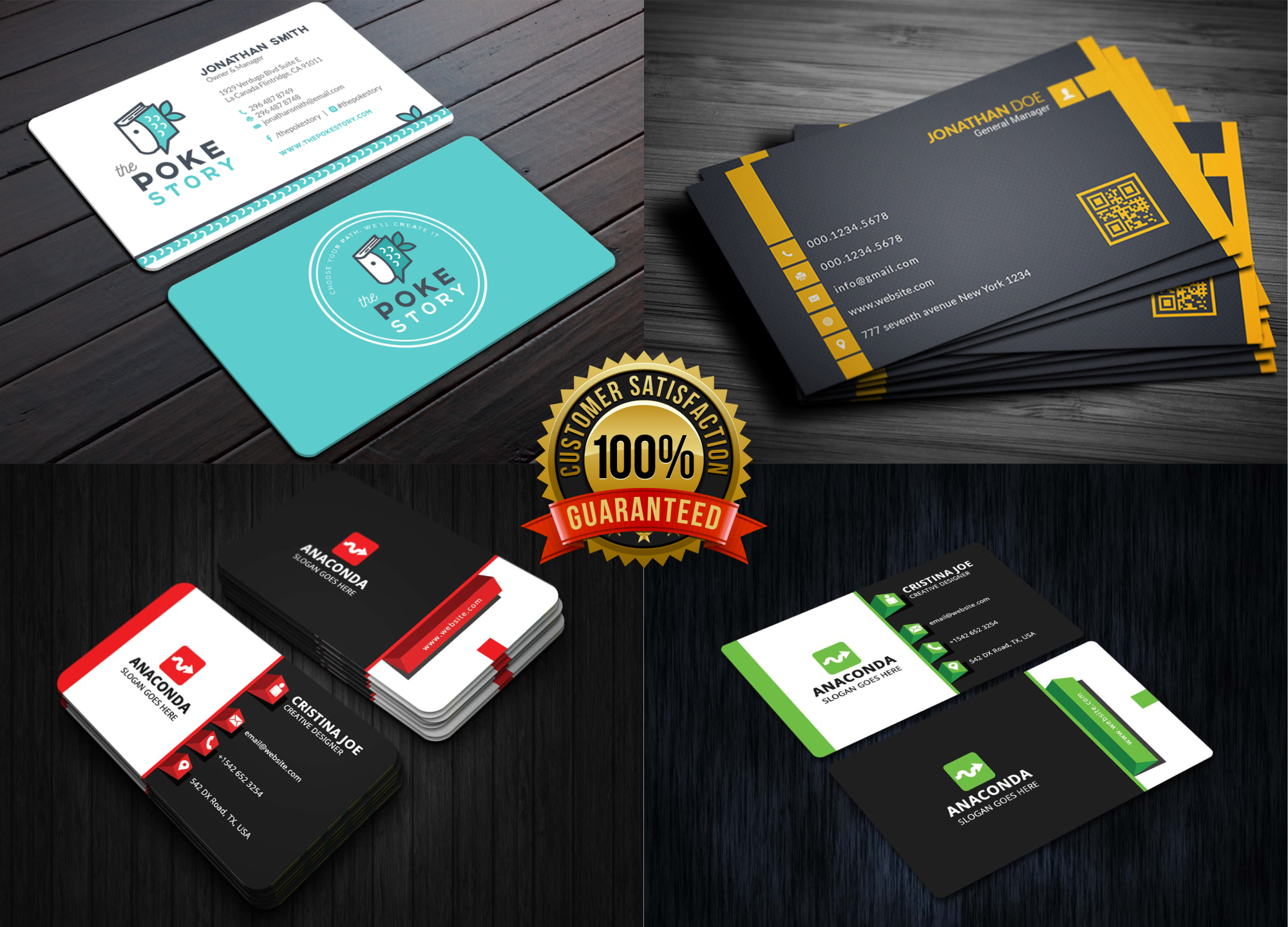 I Will Create a Perfect and Professional Business Card Design