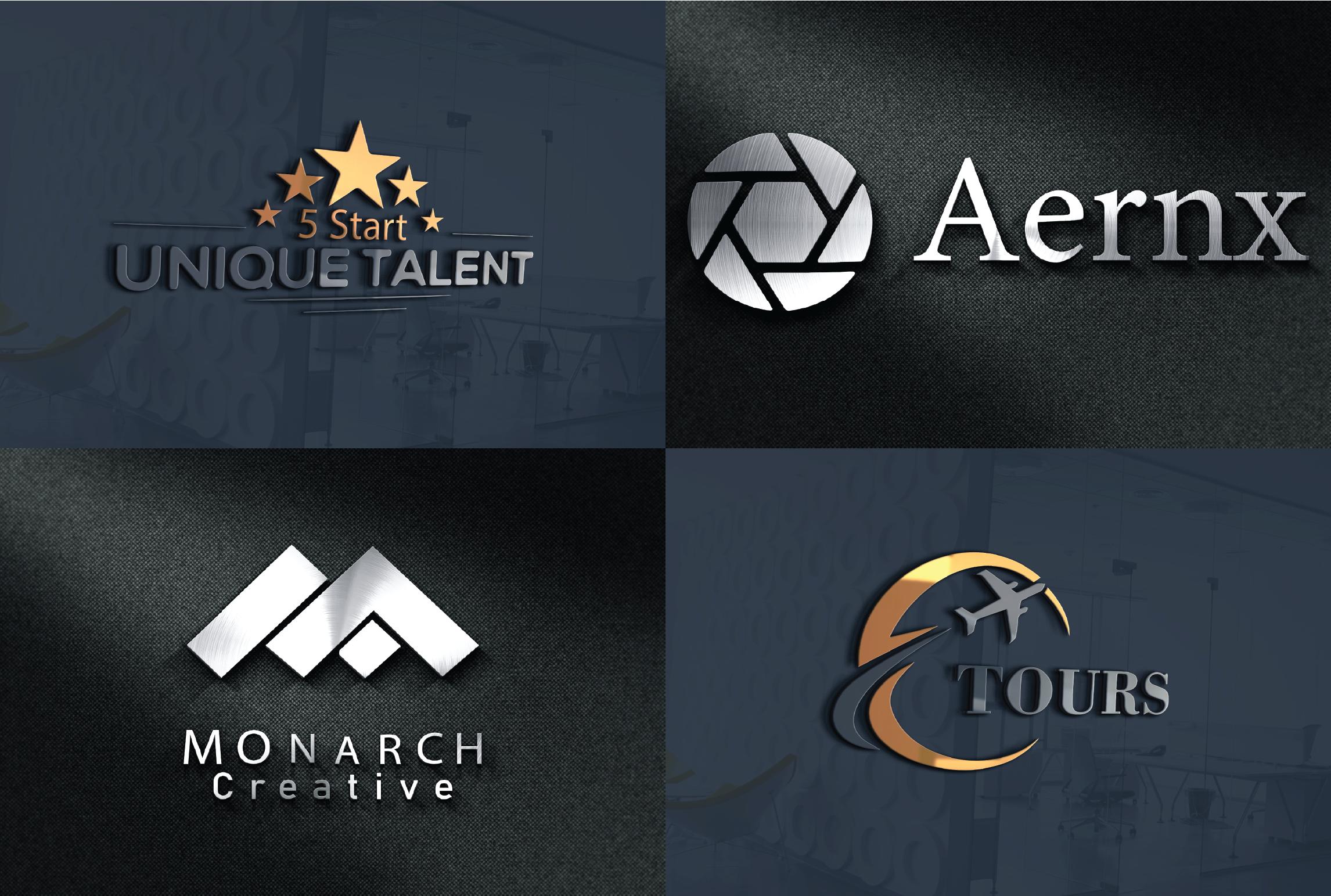 I will design attractive brand unique logo for you