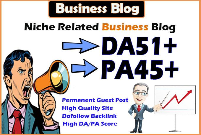 do guest post on da51 hq Business blog