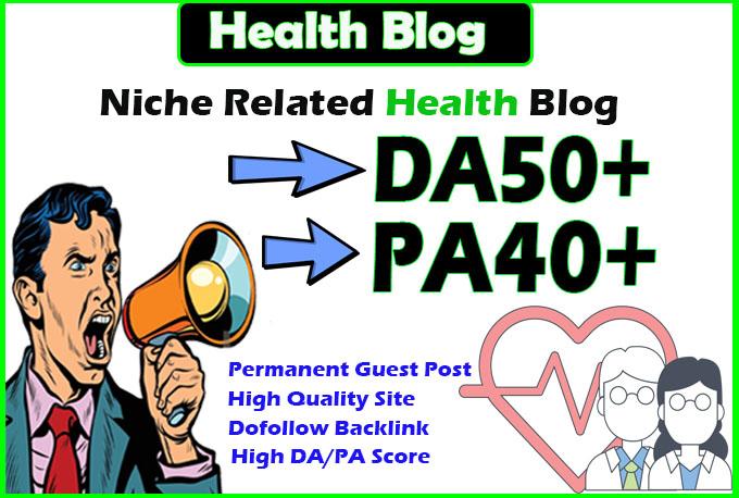 give you da50 health guest post
